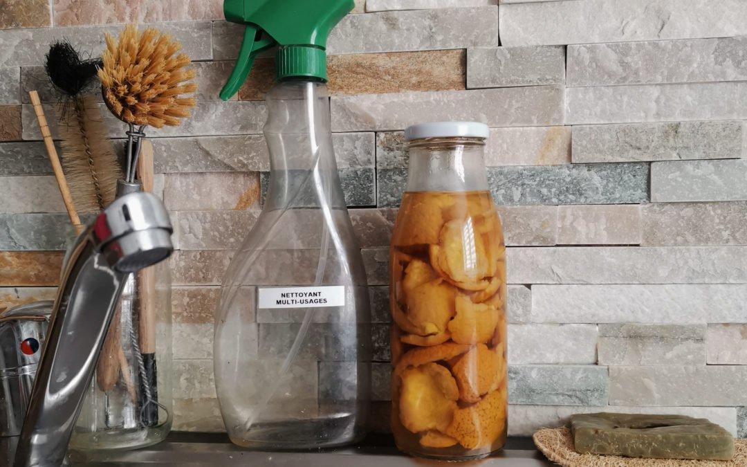 3 recettes pour entretenir sa cuisine naturellement et zéro-déchet