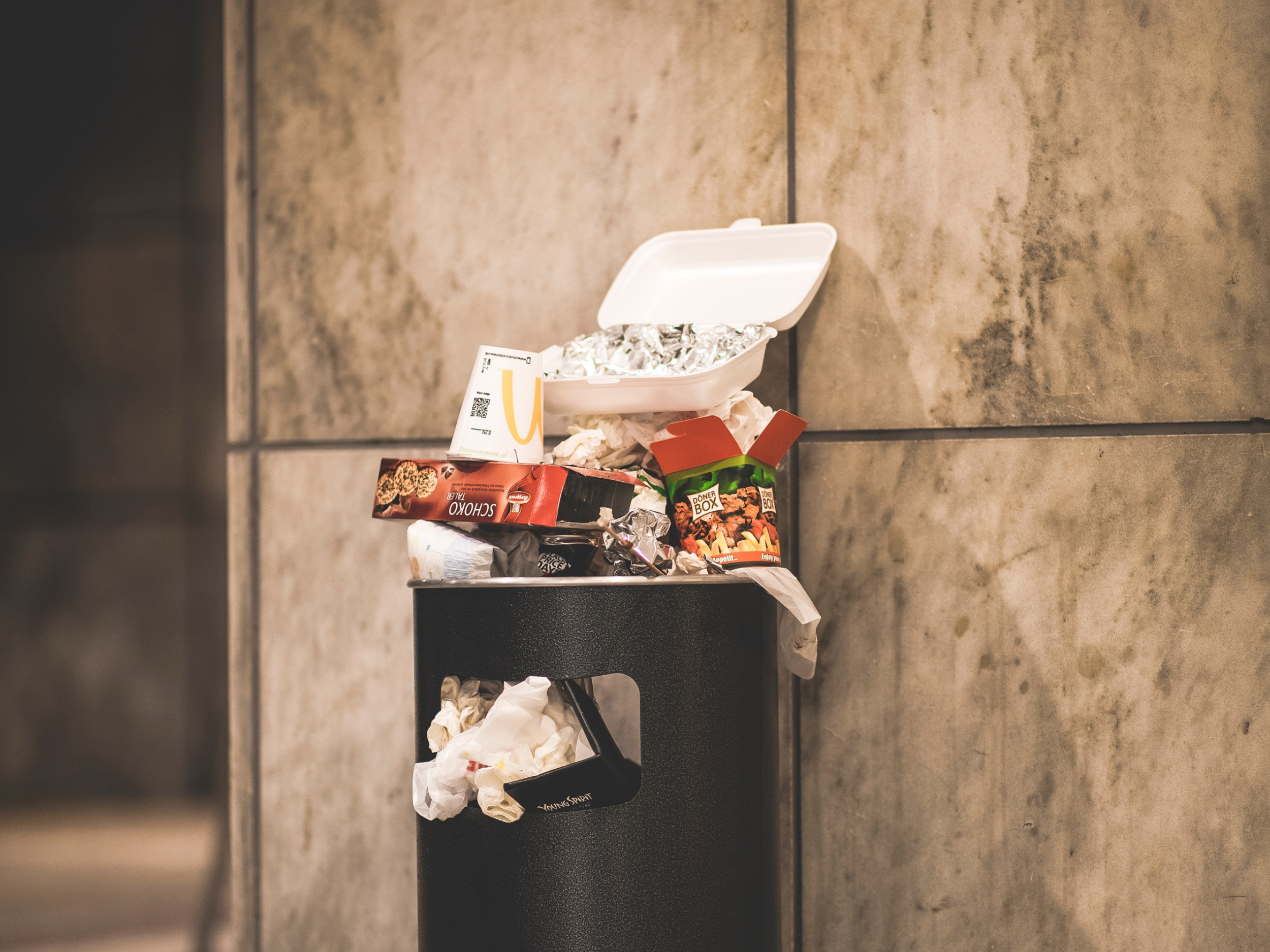 poubelle-de-tri-des-déchets